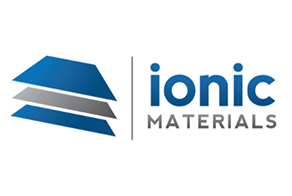 Image of Ionic Materials' logo