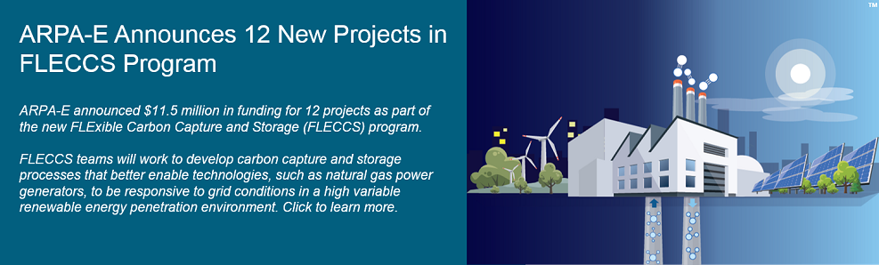 ARPA-E Announces 12 New Projects in FLECCS Program